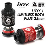 【RTA】 IJOY / LIMITLESS RDTA PLUS 【ICE VAPEアトマイザースタンドセット】 (BLACK)