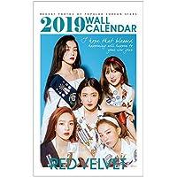 RED VELVET (レッドベルベット) 2019年 (平成31年) フォト 壁掛けカレンダー グッズ (2019 K-Star Photo Wall Calendar)