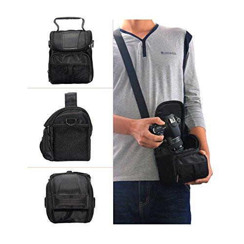 『V91 *Camshot* カメラパーツ 防水ショルダーカメラバッグ キヤノン Canon EOS Kiss F X80 X70 X50 X9i X8i X7 X7i X6i X5 X4 X3 X2 7 Digital N X に適用です カメラバッグ 一眼レフ おしゃれ カメラケース ショルダーバッグ カメラ』の3枚目の画像