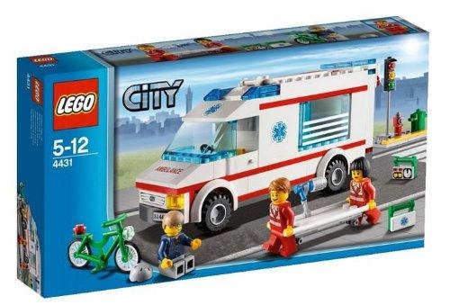 レゴ シティ タウン 救急車 4431
