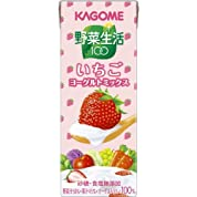 カゴメ 野菜生活100 いちごヨーグルトミックス 200ml×24本