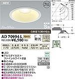 KOIZUMI(コイズミ照明) 【工事必要】 アウトドアライト LEDダウンライト 【白熱球100W相当】埋込穴φ125 ON-OFFタイプ 電球色:AD70994L