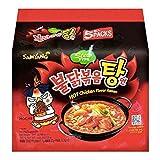 Samyang Hot Chicken Stew Ramen, 145g, (Pack of 5)