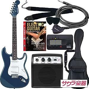 SELDER セルダー エレキギター ストラトキャスタータイプ サクラ楽器オリジナル ST-16/MBL 初心者入門リミテッドセット