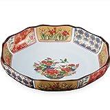 有田焼 古典柄の魅力を楽しむ 古伊万里金彩 八寸盛皿 ama-365105