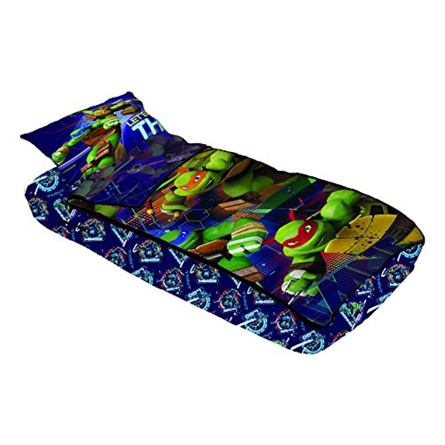 [ニコロデオン]Nickelodeon Teenage Mutant Ninja Turtles Primetime ZipIt Bedding MY0118 [並行輸入品]