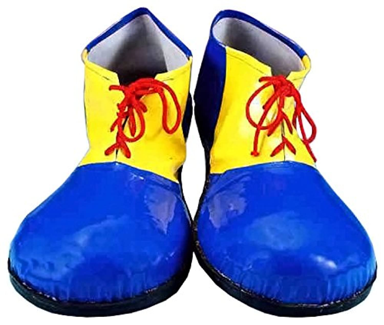 [フォーラム ノベルティ]Forum Novelties Children's Sized Clown Shoes, Blue and Yellow, Small 59682 [並行輸入品]