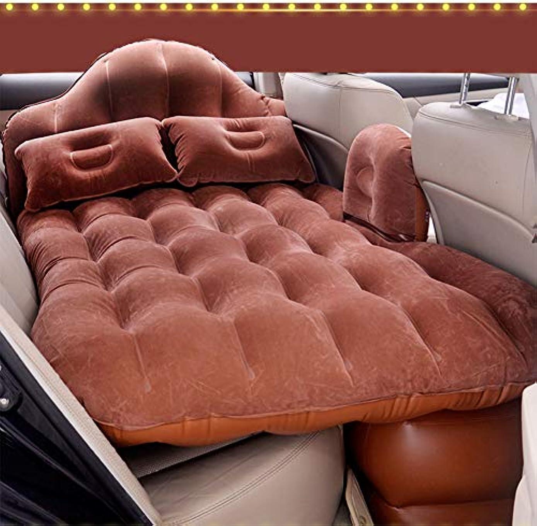 用心二層腐敗したLINGYAO 車の後部座席インフレータブルベッド多機能防水環境にやさしい防湿性と汚れたインフレータブルクッション