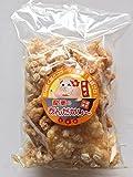 龍華のあんだかし~ 塩味 100g×4袋 豚皮チップス 沖縄伝統の味 あぶらかす お酒のおつまみやMEC食に! サクサク食感