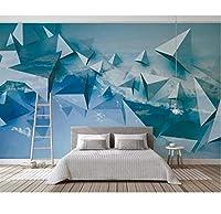 Generic カスタム壁紙3D抽象的な幾何学的な空現代抽象芸術壁画リビングルームの寝室3D壁紙-200X140Cm