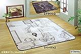 (2色展開) ミッキーマウス/ボアラグ 洗濯機で丸洗い!洗える/こたつ敷き/ウォシャブルホットカーペットカバー 130×185 cm約 1.5畳 ラグ 洗える ラグマット 北欧 夏 カーペット 絨毯 おしゃれ /ベビー/ディズニー/子供部屋「お届け約1週間」 ベージュ,-