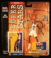 KEVIN GARNETT * 2000 OLYMPICS MEN'S BASKETBALL TEAM U.S.A. * NBA Team Super Stars Limited Edition Figure, USA Display