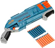 NERF E9959 Elite 2.0 Warden DB-8 Blaster, 16 Official Nerf Darts, Blast 2 Darts At Once, Tactical Rail For Cus