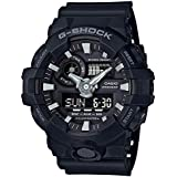 Casio G-Shock Black Analogue/Digital 3D Face Mens Sports Watch GA700-1B