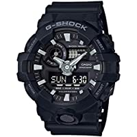GSHOCK Men's Automatic Wrist Watch analog-digital Display and Resin Strap, GA700-1B