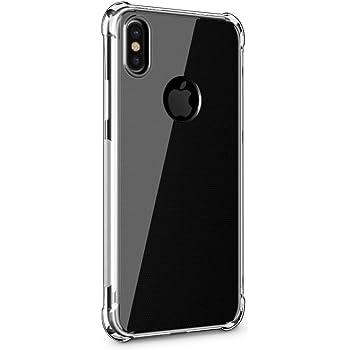 iPhone Xs Maxケース【SLEO】6.5インチ iPhone 2018 スマホケース 軽量 TPUケース 全面クリア 触覚シリーズ 薄型 高品質 耐スクラッチシェル (クリア)