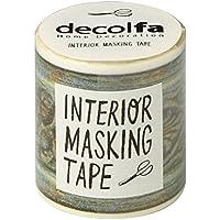 ニトムズ ウォールステッカー インテリアマスキングテープ 50mm フレーム/グリーン M3615