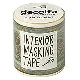 ニトムズ インテリアマスキングテープ 50mm フレーム/グリーン M3615
