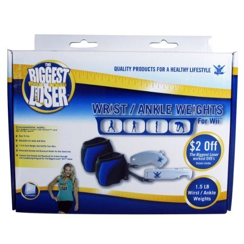 The Biggest Loser Wrist/Ankle Weights for Wii by NBC Universal DA [並行輸入品]