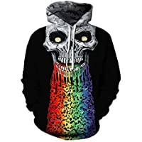 Mclochy Unisex Hoodies Sweatshirts 3D Print Active Halloween Sweaters Tops