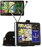 フルセグ搭載 ポータブルナビ 7インチ 液晶モニター GPS 地図データ 3年間更新無料 DC12V DC24V 対応