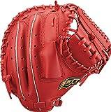 ZETT(ゼット) 野球 軟式 デュアルキャッチ キャッチャーミット 新軟式ボール対応 右投げ用 レッド(6400) BRCB34912