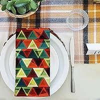 artzfolioグランジ三角形テーブルナプキンサテン生地 16inch x 16inch; SINGLE PIECE AZKIT21505235NAP_TB_L_01-S1_SN