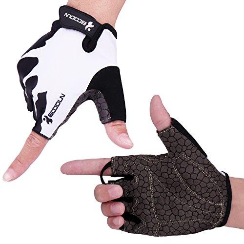 HIKING サイクリンググローブ 夏 3D 立体 サイクルグローブ 自転車 手袋 衝撃吸収 耐磨耗性 換気性 通気性 ...