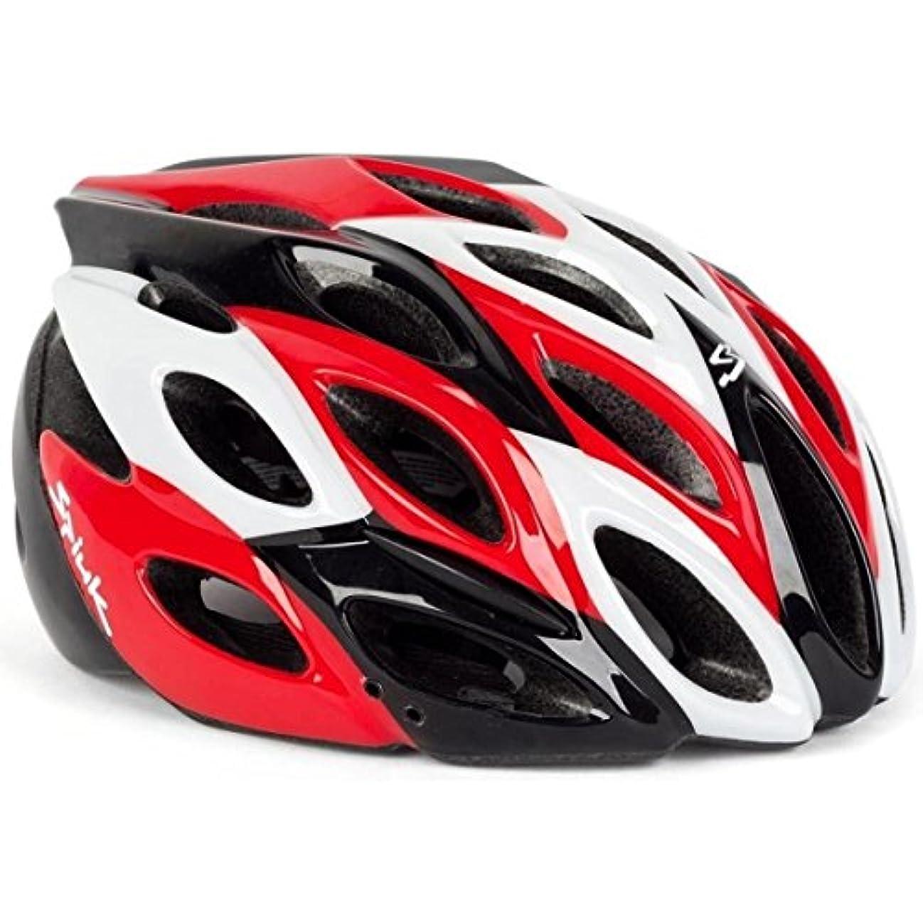 再びスプレー土地Spiuk ZIRION Road Helmet Red/Black M-L(53-61cm) エスピューク ヘルメット [並行輸入品]