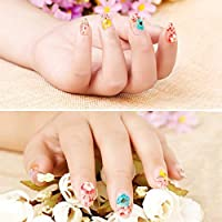 12 Colors/Set Mixed Dried Flowers Nail Beauty Art DIY Nail Art Tips Stickers Women Manicure Decorate Dry Flowers
