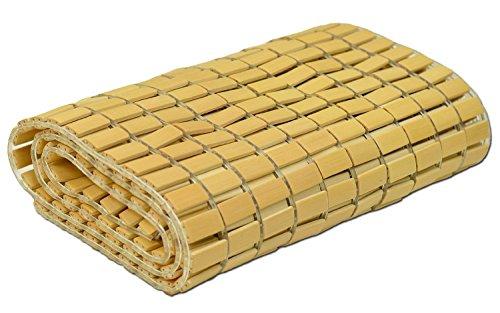 竹シーツ セミダブルサイズ「冷竹 竹駒シーツ」【GL-tm】サイズ:約110×180cm(#9810682)