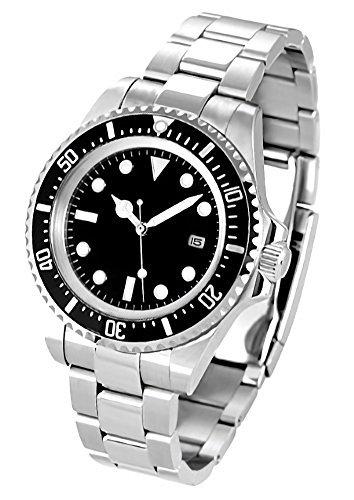 ノーロゴ 腕時計 自動巻き サブマリーナ NL-012SB3...
