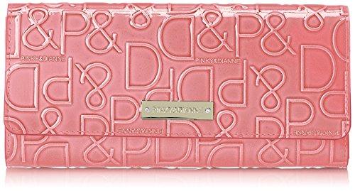 [ピンキーアンドダイアン] 長財布 【ドルチェ】 エナメル ロゴ型押し