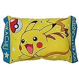 ピカチュウ 子供用 枕 綿100%、中材ポリエステル100% 28×39cm モリシタ