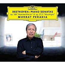 """Beethoven Piano Sonatas Op. 106 """"Hammerklavier"""" & Op. 27/2 """"Moonlight"""" [LP]"""