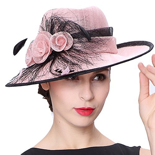 Koola's hats 帽子 サンハット 3層シナメイ ケ...