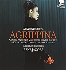 ヘンデル:アグリッピーナ (Handel : Agrippina / Jacobs) [3CD]