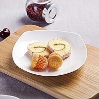 寿司ステーキ刺身パスタプレート - 最高品質のセラミック、キッチンとレストラン、5 6 8 10インチのプレート、2018新しいデザイン プレート (色 : C, サイズ さいず : L l)