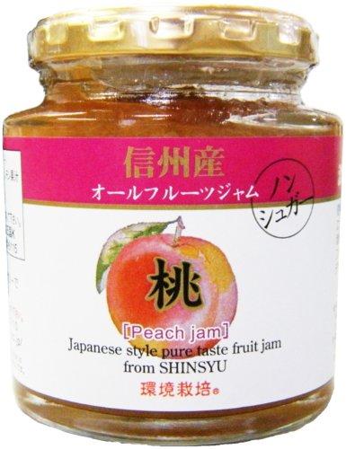 信州産オールフルーツジャム 桃 240g