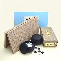 イチオシ!囲碁セット 携帯便利な新桂6号折碁盤とP碁石?碁笥