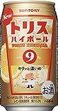 サントリー  トリスハイボール缶 9% キリッと濃いめ 350ml×24本