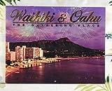 ○o。【ABC限定】2018年ハワイアンカレンダー【Waikiki&Oahu】 ハワイ直輸入・数量限定!! ハワイ雑貨*ダイヤモンドヘッド*ワイキキ*ハワイアンインテリア*ハワイカレンダー。o○