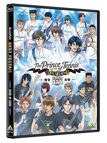 【Amazon.co.jp限定】テニプリ BEST FESTA!! 青学 vs 氷帝 (キャスト複製サイン入りA3クリアポスター(青春学園中等部)付) [Blu-ray]