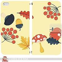 Autumn Color 手帳型 Galaxy Note9 SC-01L(SC-01L docomo)(G006501_05) 専用 秋 pop art センス 個性的 スマホケース