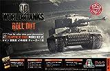 プラッツ/イタレリ World of Tanks 1/35 ドイツ 重戦車 VI号戦車 ティーガー1型 プラスチックモデルキット WOT39502