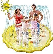 噴水プール 直径170CM ビニールプール 噴水マット おもちゃプレイマット 夏の日 子供用 家庭用 水遊び 親子遊び アウトドア 芝生遊び 誕生日プレゼント