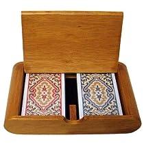ブリベリーGKEM-405.GPLA-001木製ボックスセットペイズリー狭いレギュラー
