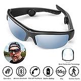 Best Bluetoothのサングラス - AcTek 骨伝導 ヘッドホン スポーツサングラス bluetooth ヘッドセット 耳フリー UV/霧/割れカット Review