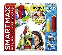 [スマートマックス]SmartMax Magnetic Discovery Basic 25 Set with Bonus Vehicle 847563009589 [並行輸入品]