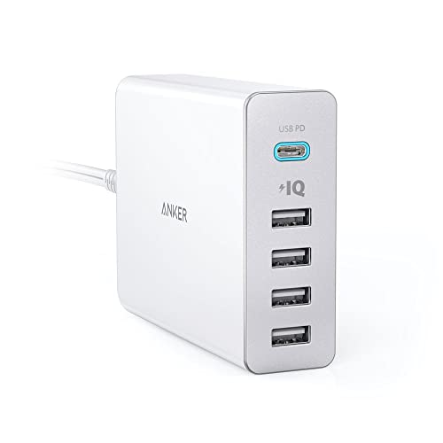 Anker PowerPort+ 5 USB-C Power Delivery ホワイト